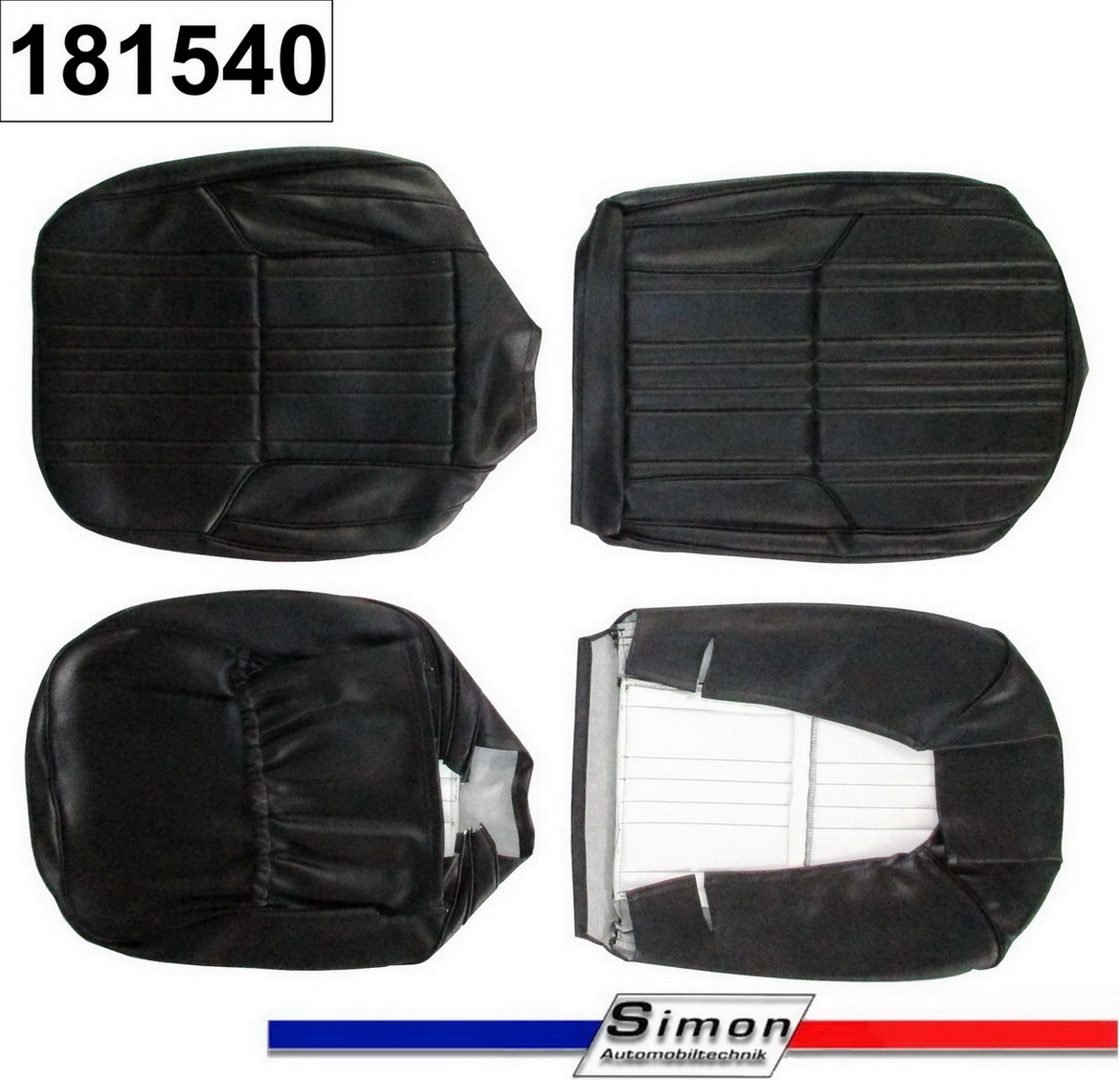 Seat covers (4 pieces) Alpine A110